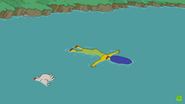 Marge drowns