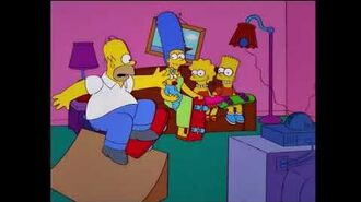 The Simpsons 500th episode couch gag!