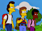 Homer, Lenny e Carl jovens