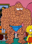 Homer as The Thing