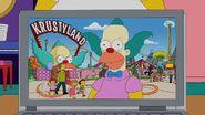 Krusty at Krustyland