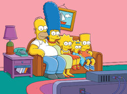 Simpsonowie na kanapie