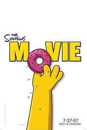 Simpsons movie poster