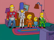 Simpsons transformers 2