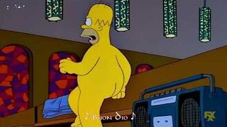 -I Simpson- Edwin Starr + Homer - War (Sub Ita)