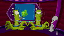 Kang, kodos and roger
