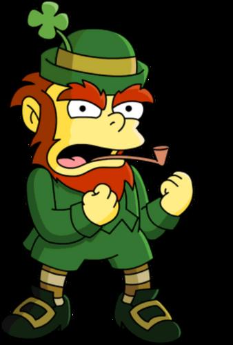 Leprechaun simpsons wiki fandom powered by wikia - Clipart weihnachtswichtel ...
