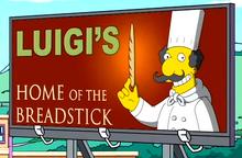 Luigi's Home of the Breadstick