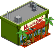 Malaria zone tapped out