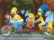 Simpsons TandomBike 1600