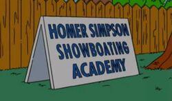 Academia de exibicionismo Homer Simpson