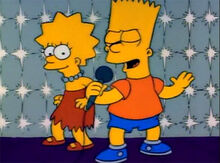 Bart lisa karaoke