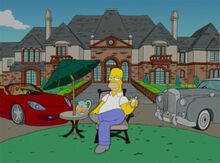 Homer 40 mansão