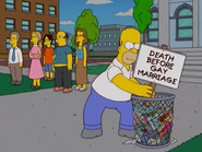 Death before gay marriages