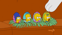 Easter Egg Couch Gag