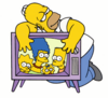 Homer et la télé