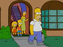 Marge amnesia expulsa homer