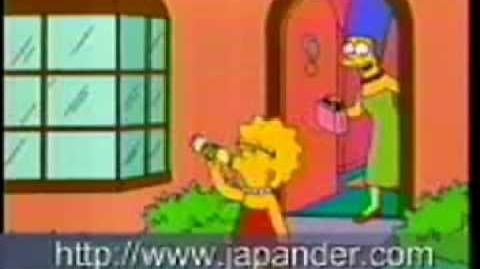 Simpsons Japanese Commercial