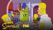 Bart & Homer Bond Together Season 29 Ep