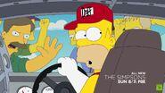 Homer going backwards