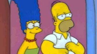 Homer singing