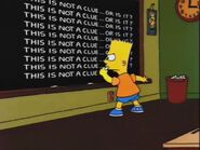 Who Shot Mr. Burns (Part One) Chalkboard Gag