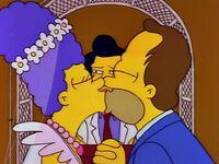 Ślub Homera i Marge