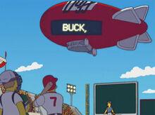 Balão dirigivel duff buck