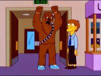 Chewie costume