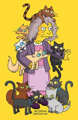 Crazy cat lady 4