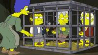 Hobbici w klatce Marge