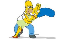Homer-and-Marge-Simpson dance