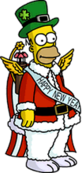 Tapped Out Holiday Homer