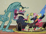 John Kricfalusi Couch Gag (Treehouse of Horror XXVI)