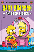 Bart Simpson-Twisted Sister