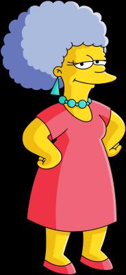 Marge Simpson lesbisk sex stor Phat ibenholt fitte