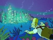 Homer cidade aquática sonho