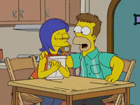 Homer i Marge jako młodzi dorośli
