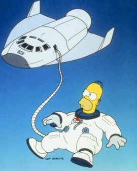 Deep Space Homer promo