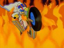 Lance Murdock moto fogo