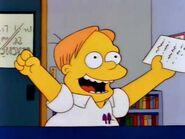 Martin with exam