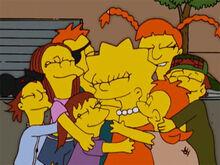 Lisa crianças spuckler abraço
