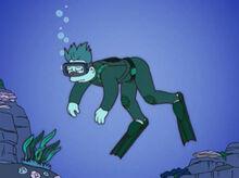 Mergulhador sem tanque nelson