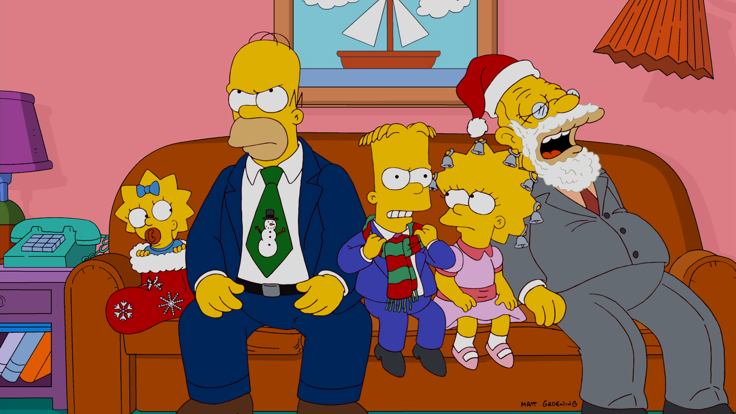Simpsons Christmas Episodes.Holidays Of Future Passed Simpsons Wiki Fandom Powered