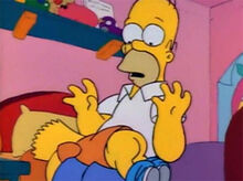 Homer bart conversa seria bunda