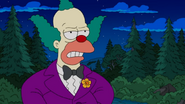 Krusty the Clown young in Four Regrettings and a Funeral