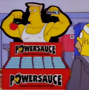 Powersauce Simpsons Wiki Fandom Powered By Wikia