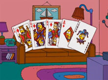Simpsons carteado