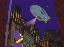 Bartman balão serpente