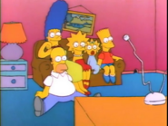 Couch gag (There's No Disgrace Like Home)